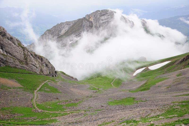 Alpes suisses. photos libres de droits