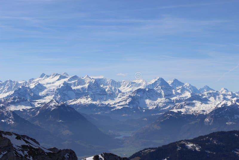 Alpes suisses photographie stock libre de droits