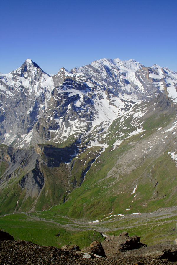 Alpes suizo fotos de archivo