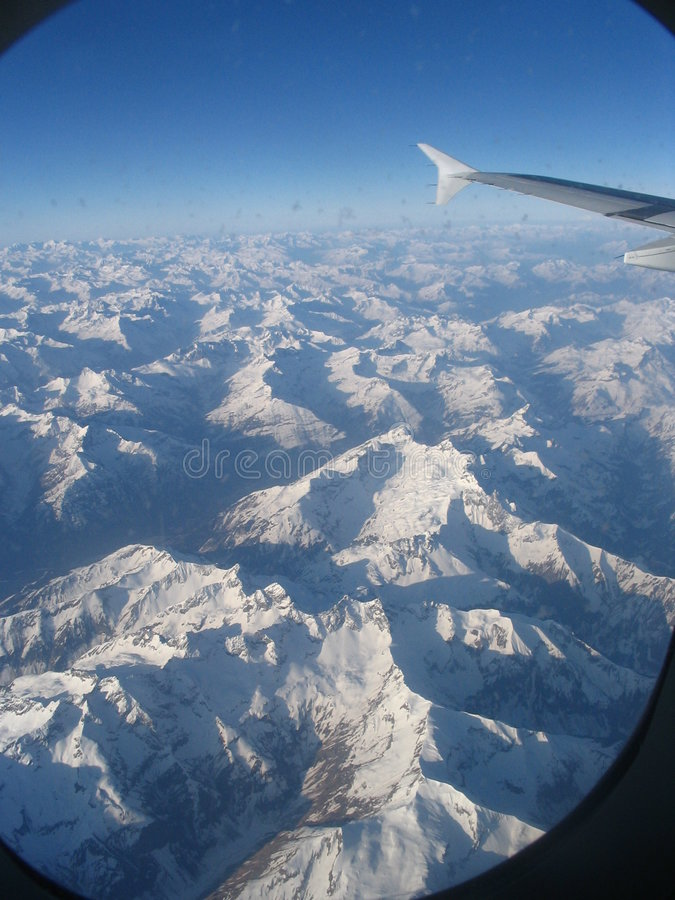 Alpes, Switzerland Royalty Free Stock Photography