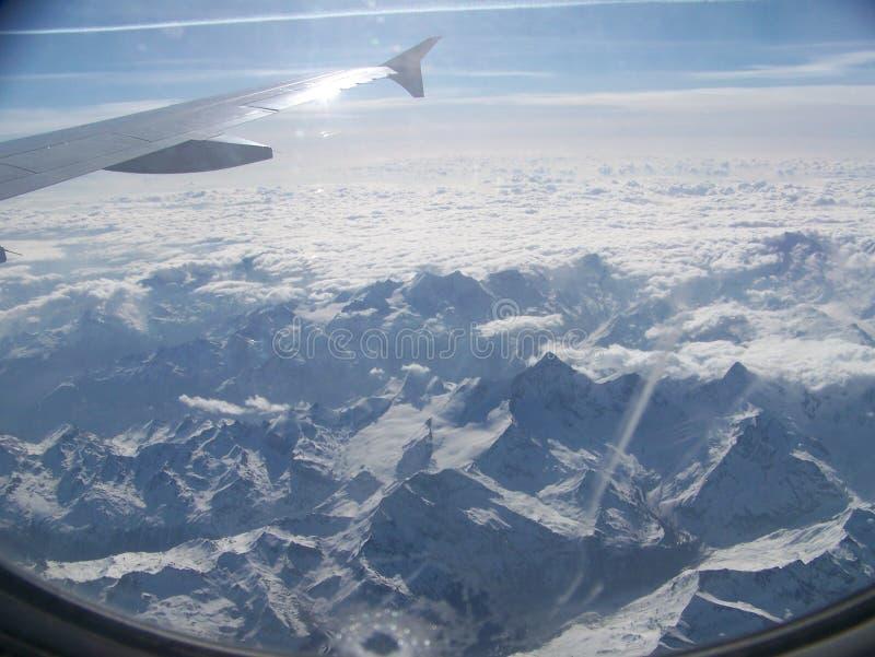 Alpes Switzerland imagens de stock