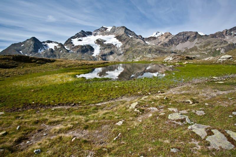 Alpes taciturnos fotografia de stock royalty free