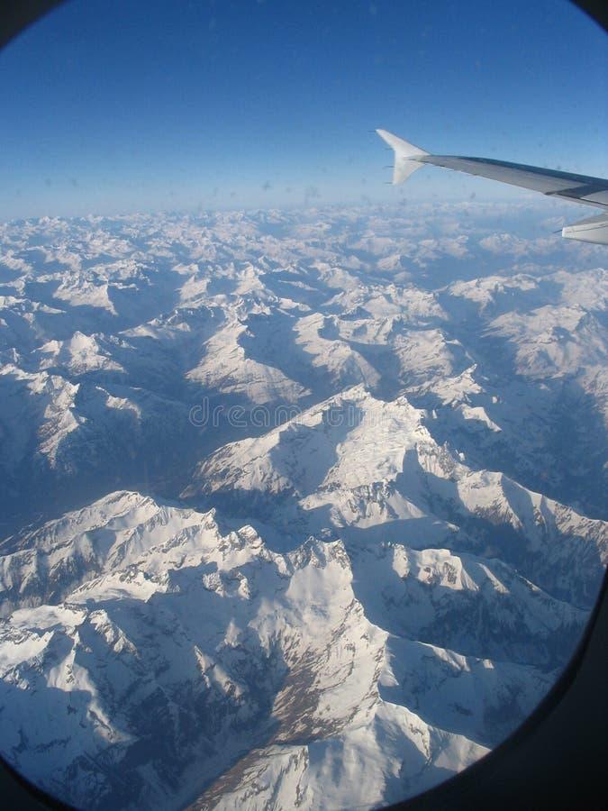 Alpes, Zwitserland royalty-vrije stock fotografie