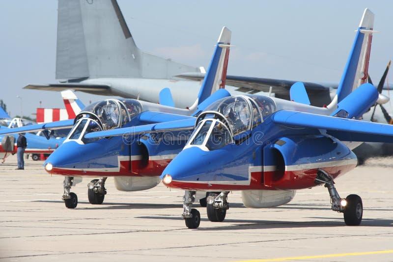 Alpha avions à réaction d'attaque photographie stock