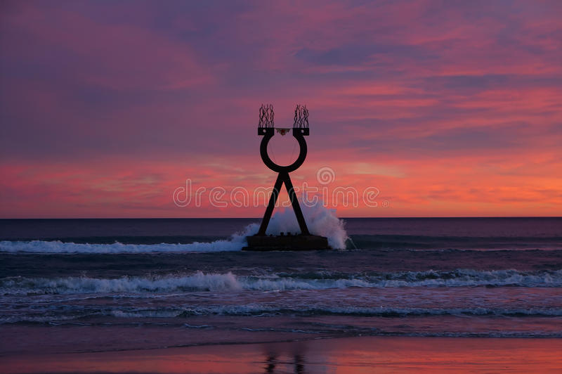 Alpha and Omega Landscape Spain stock photography