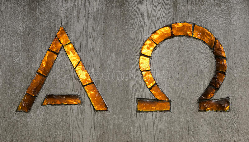 Alpha And Omega Signs Stock Image Image Of Christian 93236297