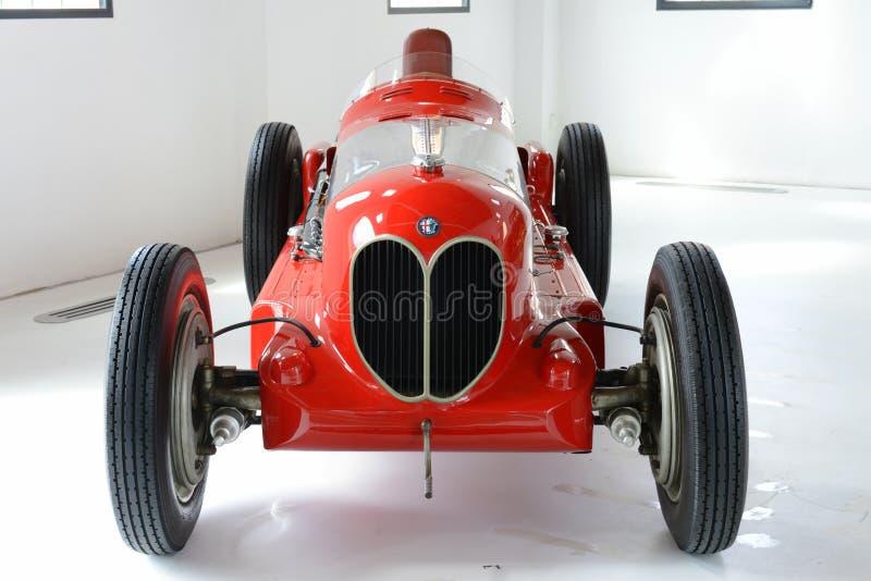 Alpha-Romeo Bi-Motore-monoposto Rennwagen lizenzfreie stockfotos