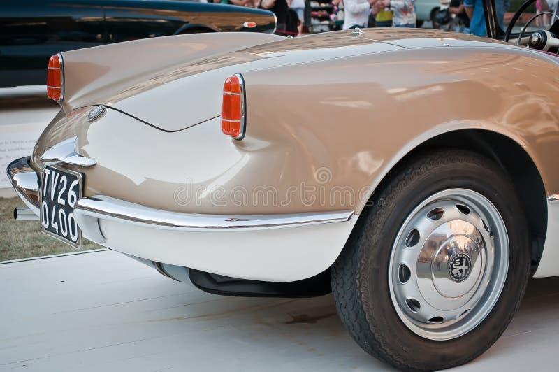 Alpha- Romeo Giulietta Spider 1955 royalty-vrije stock foto