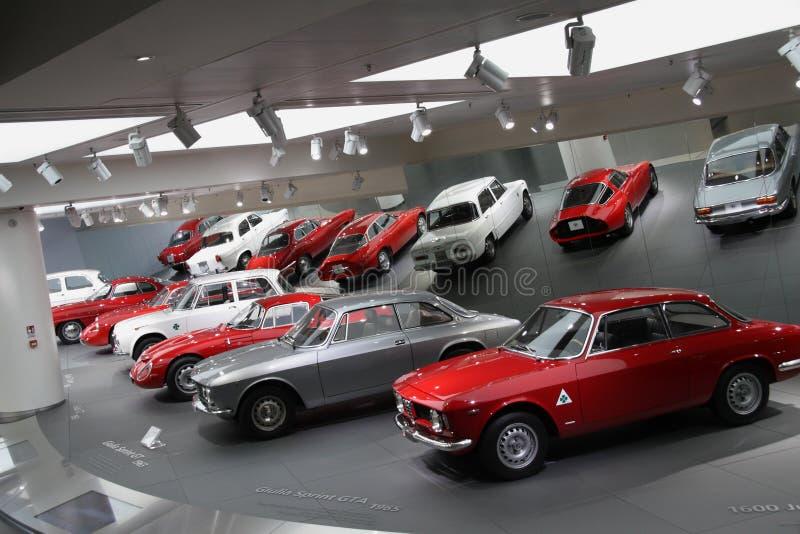 Alpha Romeo Historical Museum - Arese MI Italien stockfotos