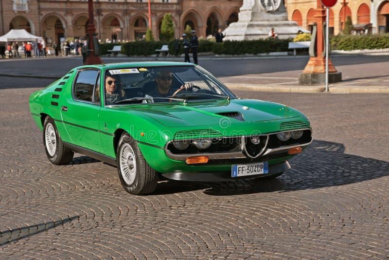 Alpha Romeo Montreal 1972 de vintage image libre de droits