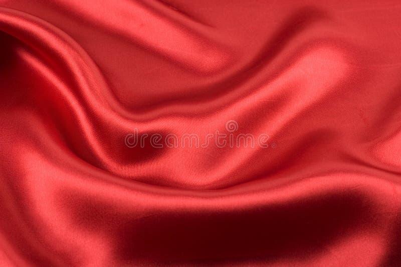 Alpha rouge de satin image libre de droits