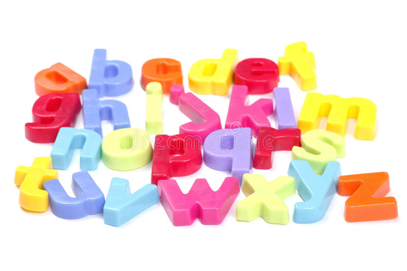 Alphabet stock photography
