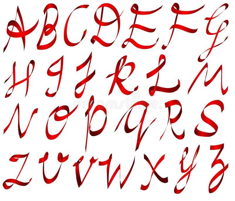 Alphabet stock illustration