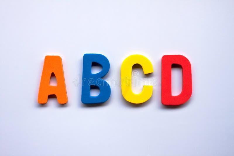 Alphabet photo libre de droits