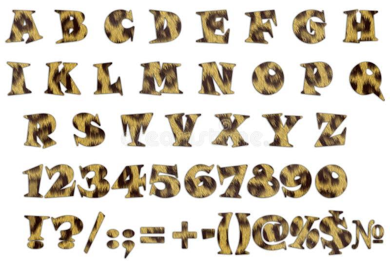 Download Alphabet stock illustration. Illustration of mammal, background - 20979076