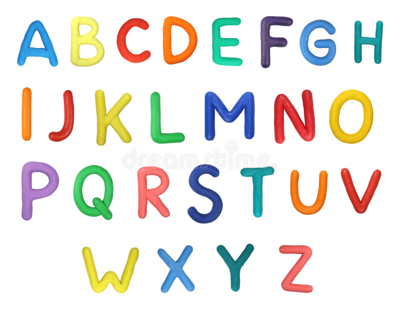 Alphabet photographie stock libre de droits