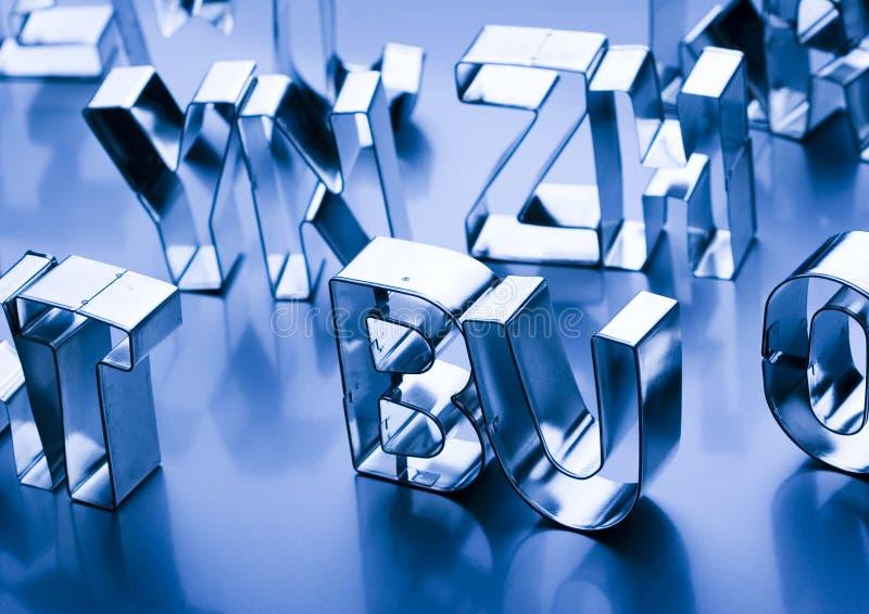 Alphabet photos libres de droits