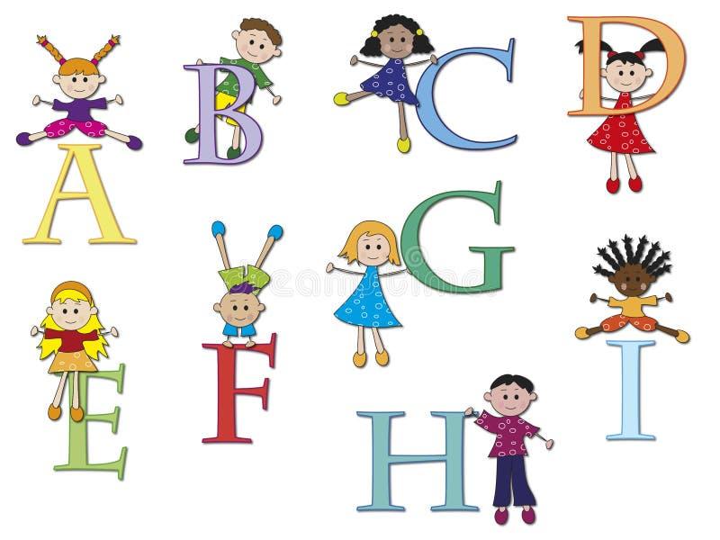 Alphabet illustration libre de droits