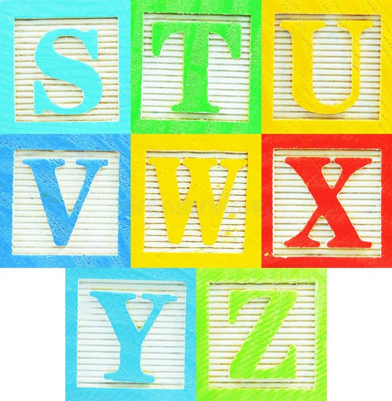 Alphabet (3) images libres de droits