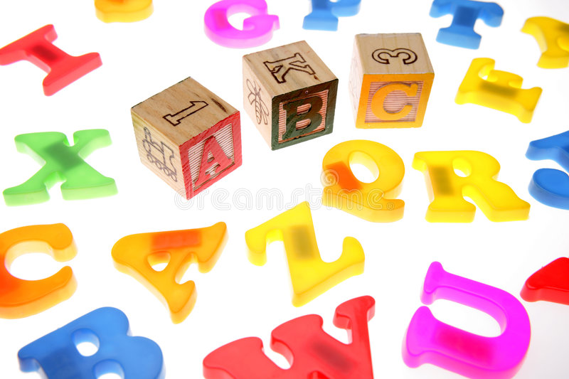 Download Alphabet stock photo. Image of childhood, color, learn - 3359580