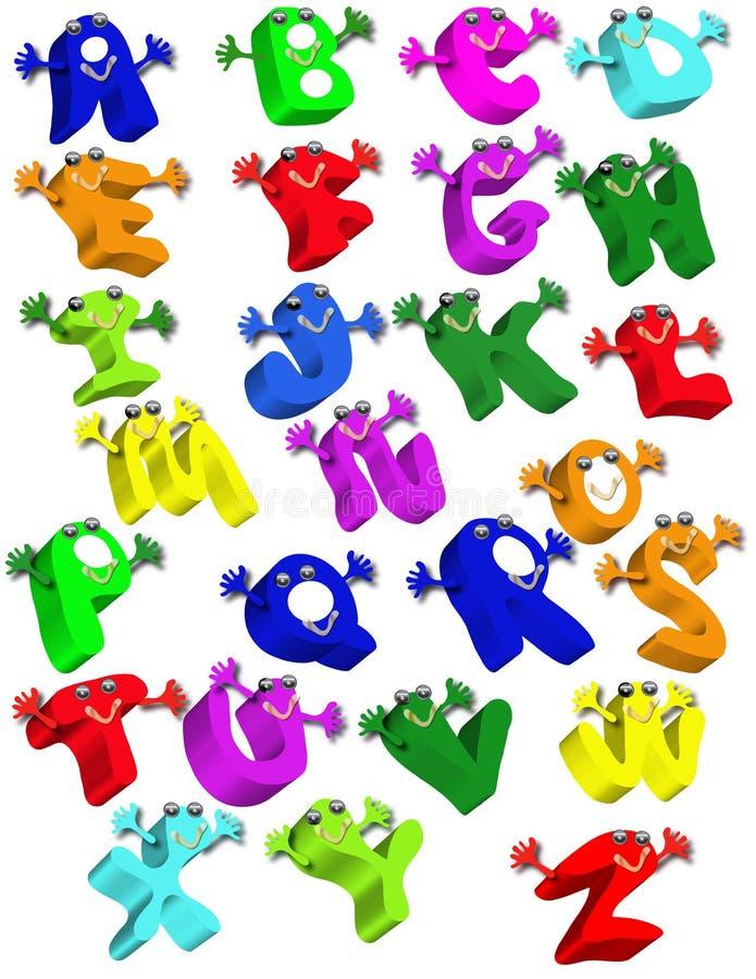 Alphabet vector illustration