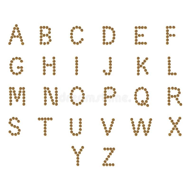 Populaire Alphabet Anglais ABC De Chat Et D'aliments Pour Chiens Secs, Sur  OS81