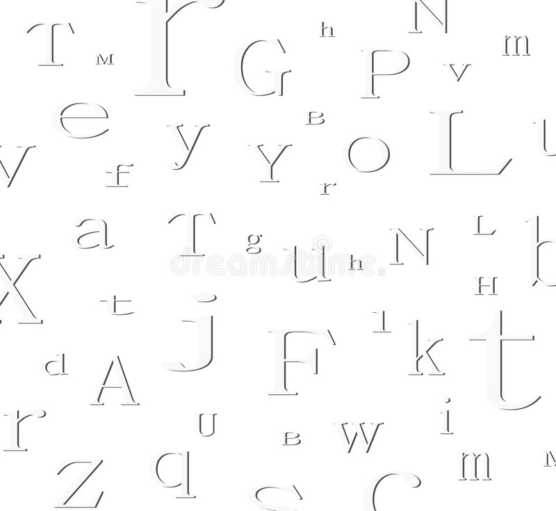 Alphabet background royalty free illustration