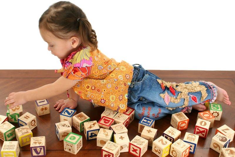 Alphabet Blocks Stock Images