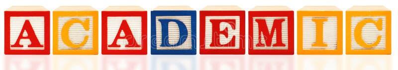 Alphabet Blocks Academic