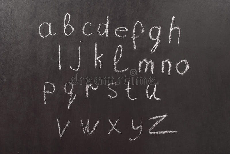 Download Alphabet on a chalkboard stock photo. Image of seamless - 13678638