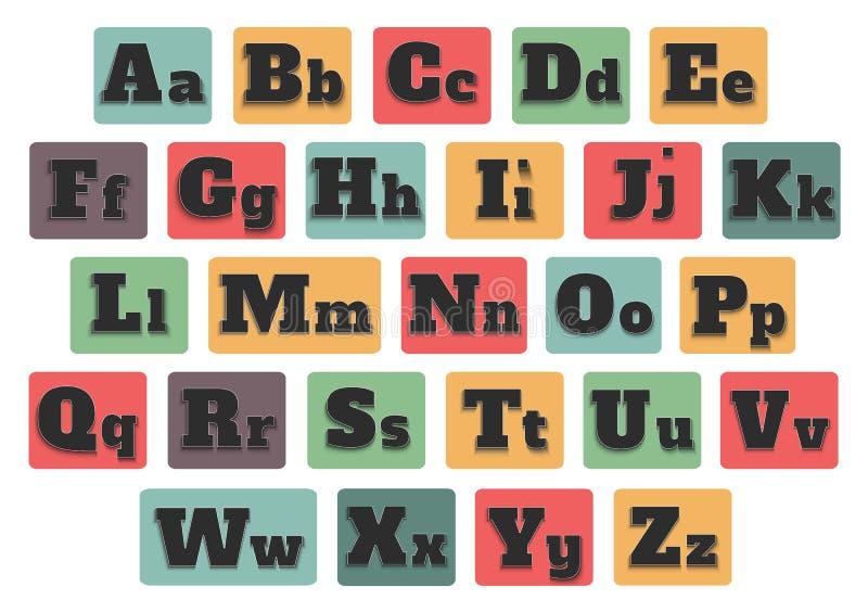 Download Alphabet stock vector. Image of script, illustration - 37195865