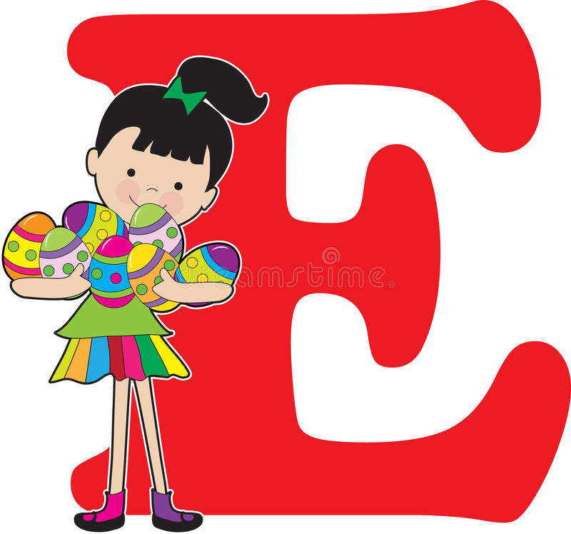 Alphabet girl e stock vector illustration of school 22686053 download alphabet girl e stock vector illustration of school 22686053 altavistaventures Images