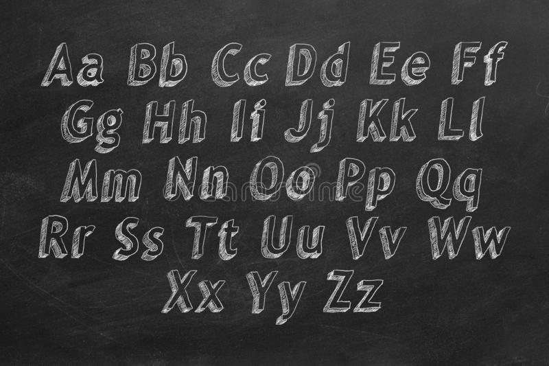 Alphabet vektor abbildung