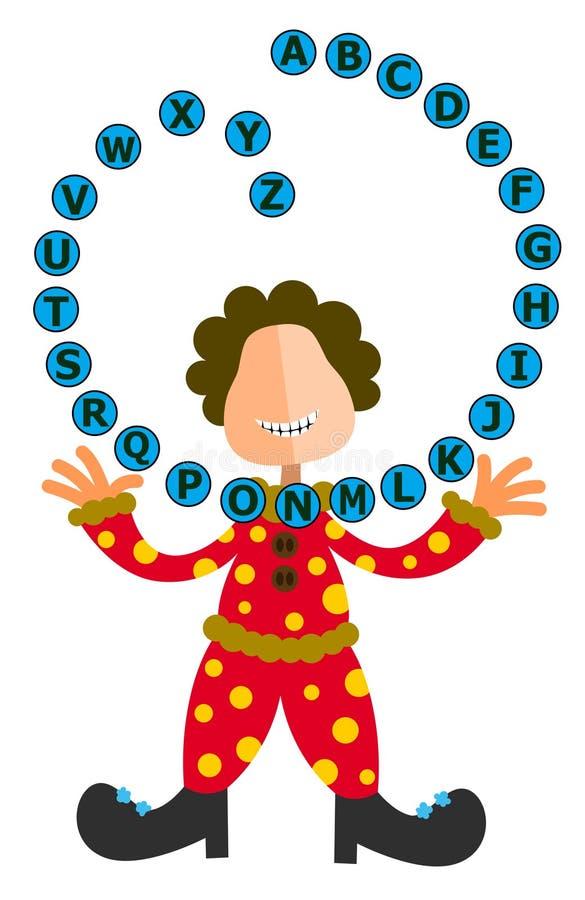 Free Alphabet Juggler Stock Image - 21767291