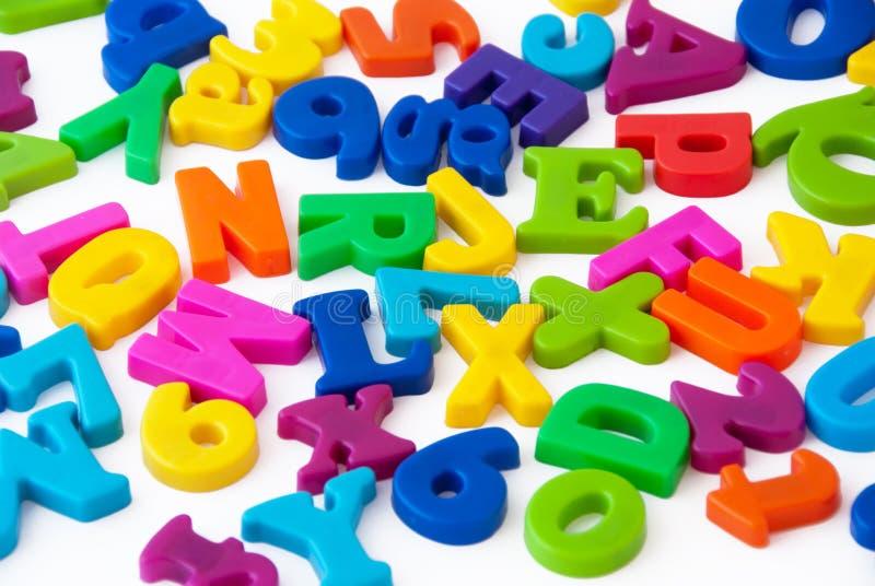 Alphabet letters background
