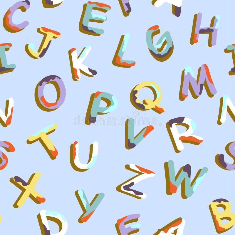 Download Alphabet pattern stock vector. Image of scrapbook, font - 29112128