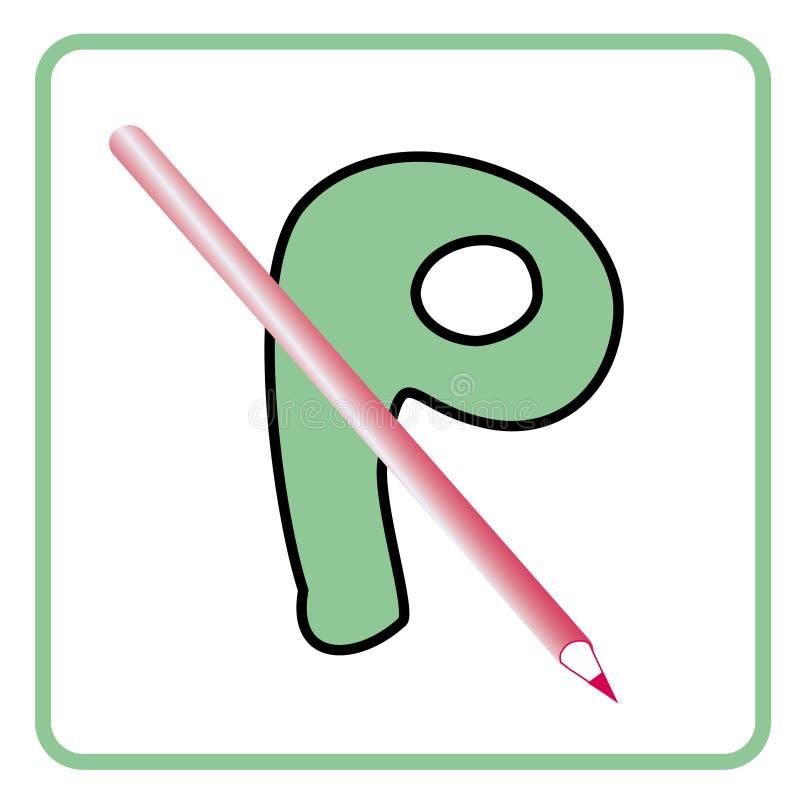 Alphabet pour des enfants illustration libre de droits