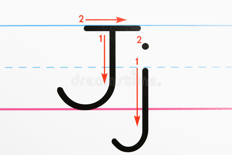 Download Alphabet practice. stock photo. Image of language, arrow - 4412998