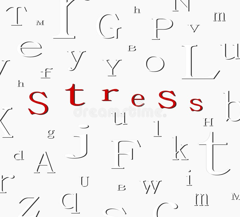 Download Alphabet stress background stock illustration. Image of conceptual - 5123133