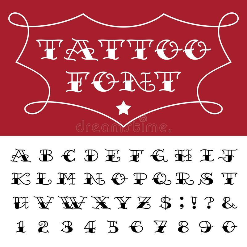 Alphabet tattoo vector font stock vector illustration of download alphabet tattoo vector font stock vector illustration of letters symbol thecheapjerseys Image collections