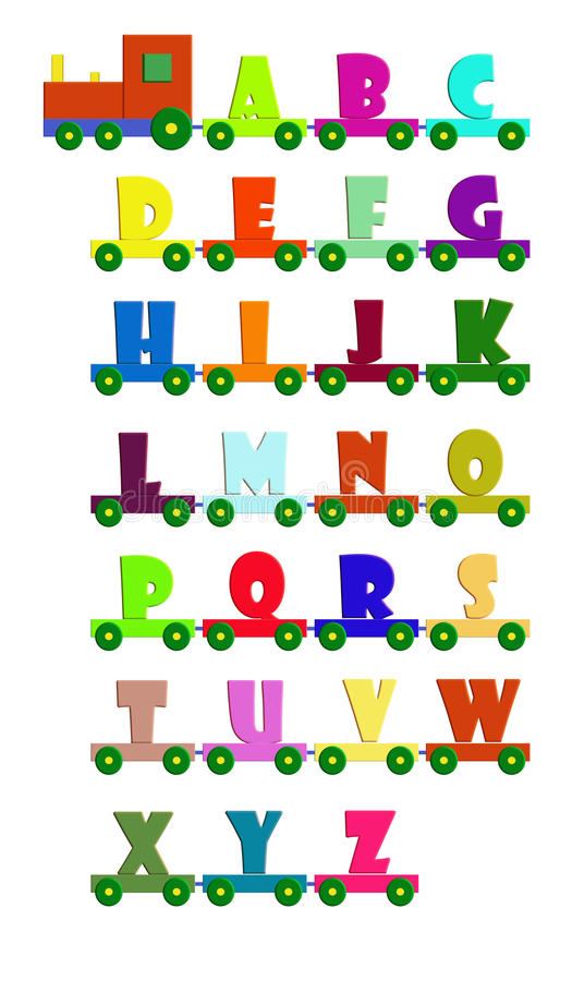 Download Alphabet Train Royalty Free Stock Images - Image: 23299389
