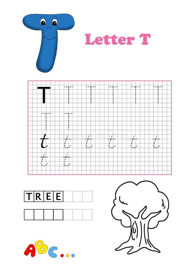 Alphabet, tree stock images