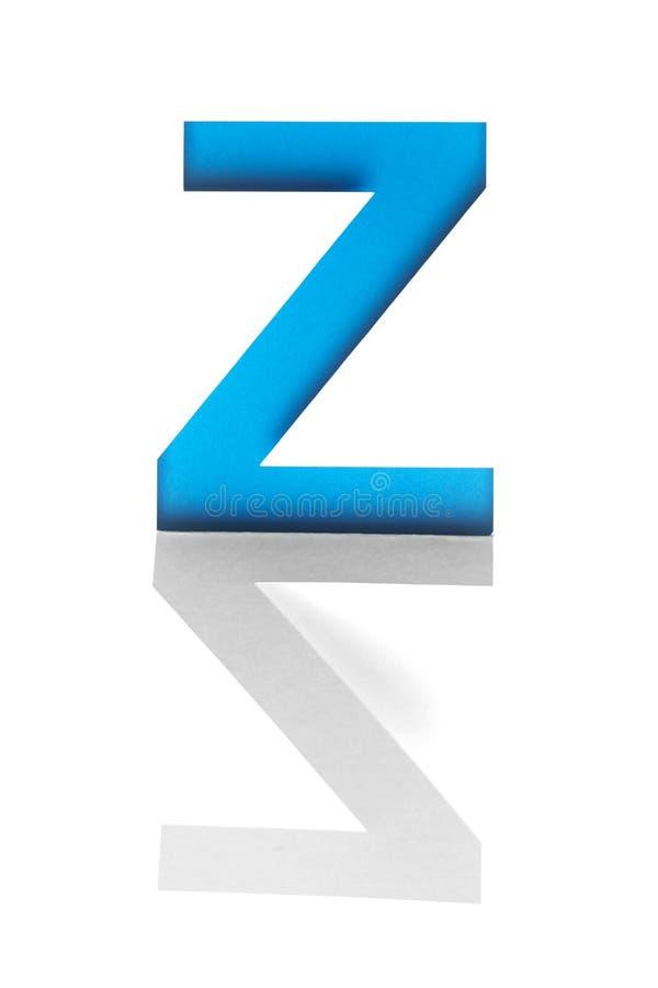 Alphabet von Ausschnittschablonenbuchstaben lizenzfreies stockfoto