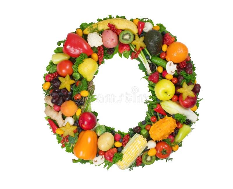 Alphabet von Gesundheit - O stockfoto