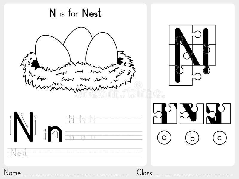 Großartig Alphabet Arbeitsblatt Für Kindergarten Ideen - Mathe ...