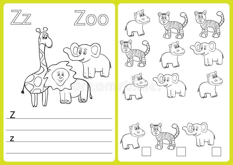 Großzügig A Bis Z Arbeitsblatt Für Kindergärten Fotos ...
