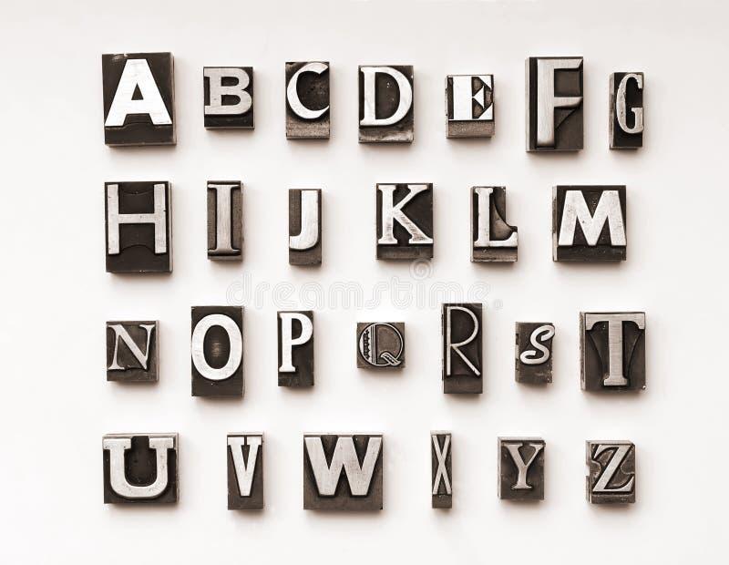 Alphabet2 imagem de stock royalty free