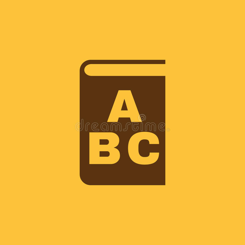 Alphabetikone ENV 10 Bibliothek und ABC, Alphabetsymbol web graphik jpg ai app zeichen nachricht flach bild vektor abbildung