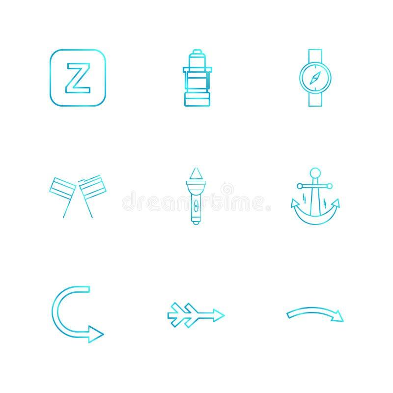 Alphabets , sea , food , picnic , summer , eps icons set vector. Alphabets , sea , food , picnic , summer , target , waether , sea side , beach , letters stock illustration