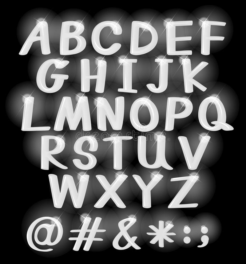 Alphabets stock illustration